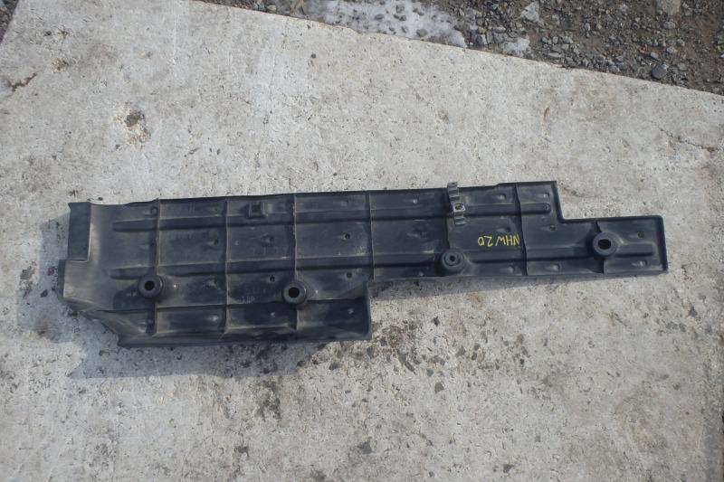 Защита днища кузова Toyota Prius NHW20 1NZ-FXE 2007 задняя правая