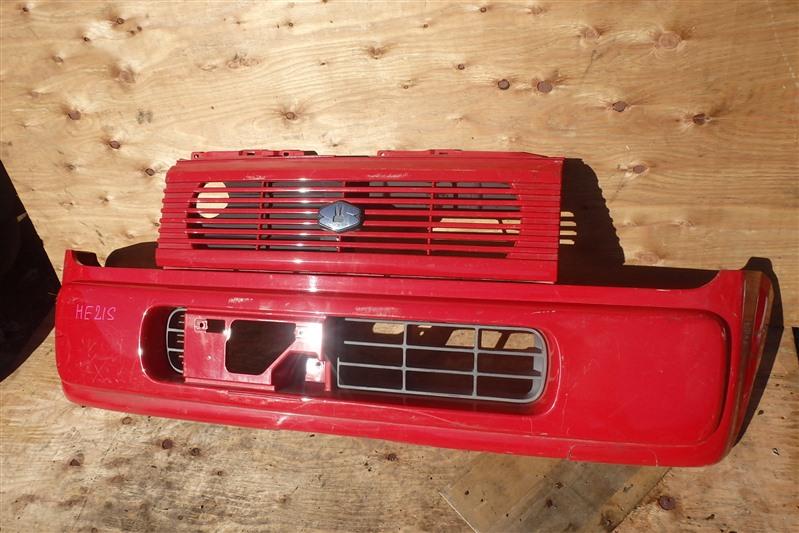 Бампер Suzuki Alto Lapin HE21S K6A 2006 передний