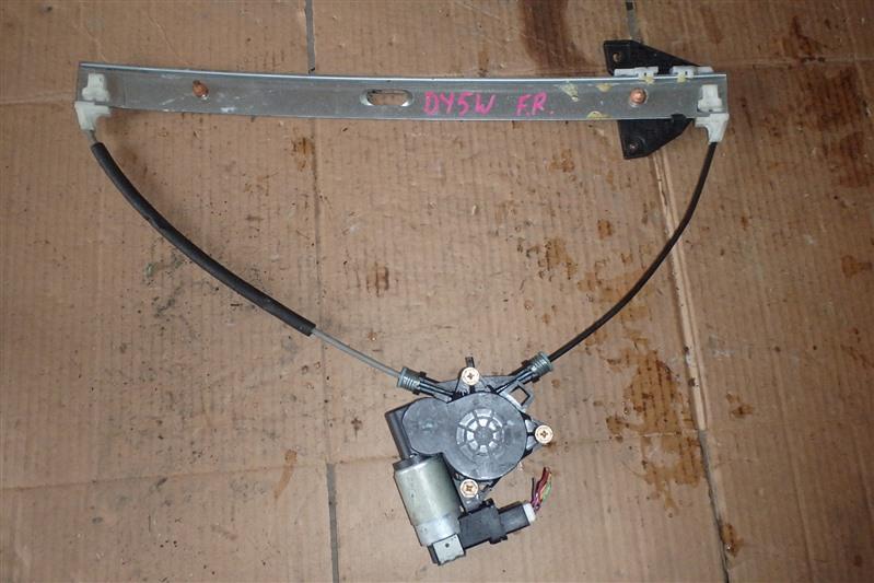Стеклоподъемник Mazda Demio DY5W ZY-VE передний правый