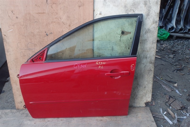 Дверь Mazda Atenza GY3W L3-VE передняя левая