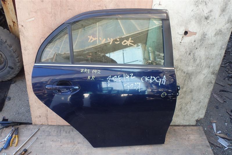 Дверь Toyota Corolla Axio ZRE142 2ZR-FE задняя правая