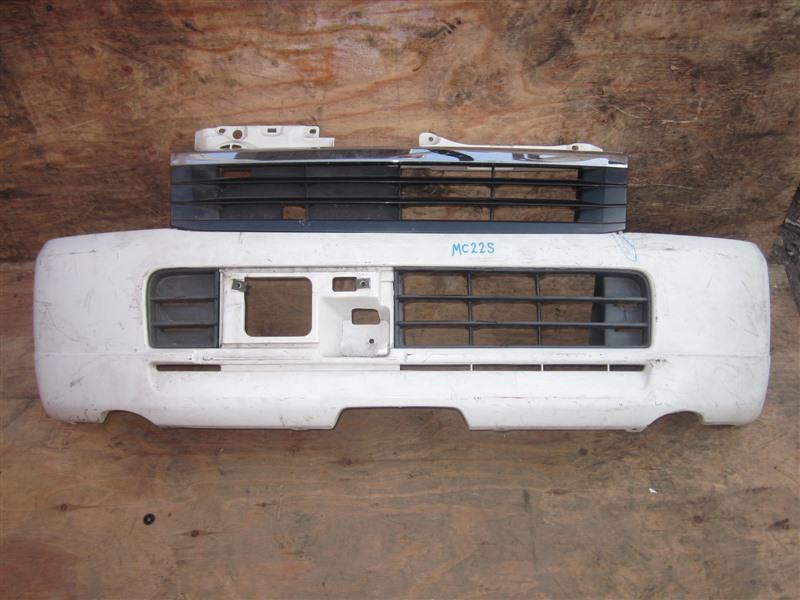 Бампер Suzuki Wagon R MC22S K6A 2000 передний