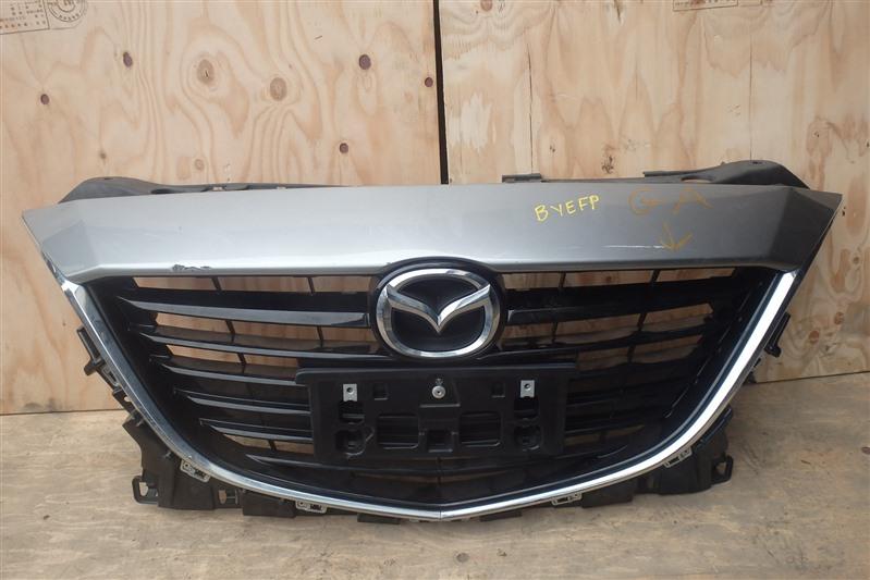 Решетка радиатора Mazda Axela Hybrid BYEFP PE-VPH 2014