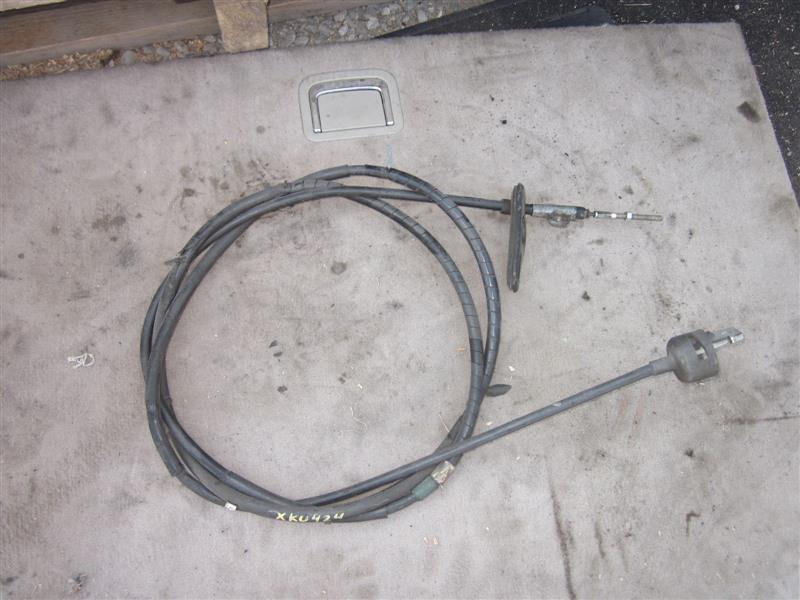 Тросик ручника Hino Dutro Hybrid XKU424 N04C-TE 2006 задний