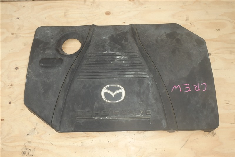Крышка двигателя пластик Mazda Premacy CREW LF