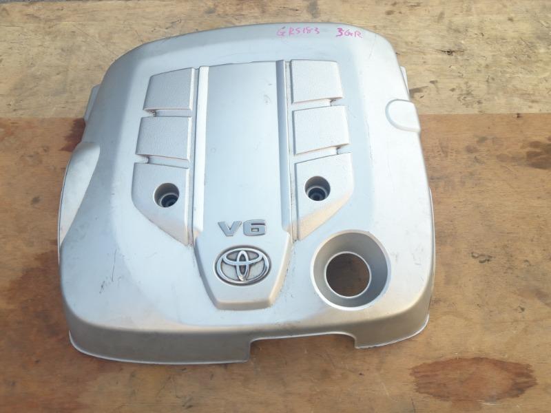 Крышка двигателя пластик Toyota Crown GRS182 3GR-FSE