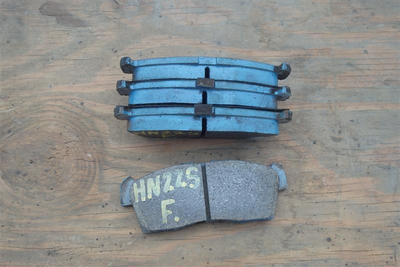 Колодки тормозные Suzuki Kei HN22S K6A передние