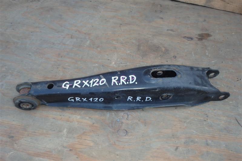 Рычаг Toyota Mark X GRX120 4GR-FSE задний правый нижний