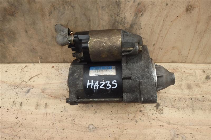 Стартер Suzuki Alto HA23S K6A