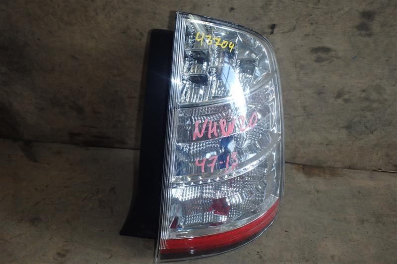 Стоп Toyota Prius NHW20 1NZ-FXE 2008 задний правый