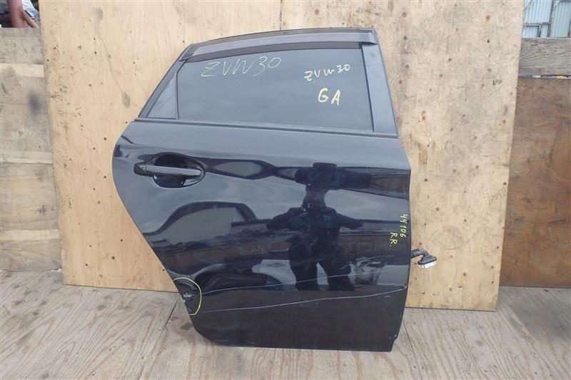 Дверь Toyota Prius ZVW30 2ZR-FXE 2013 задняя правая