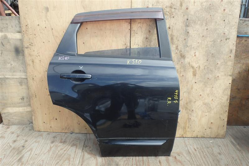 Дверь Nissan Dualis KJ10 MR20DE 2008 задняя правая