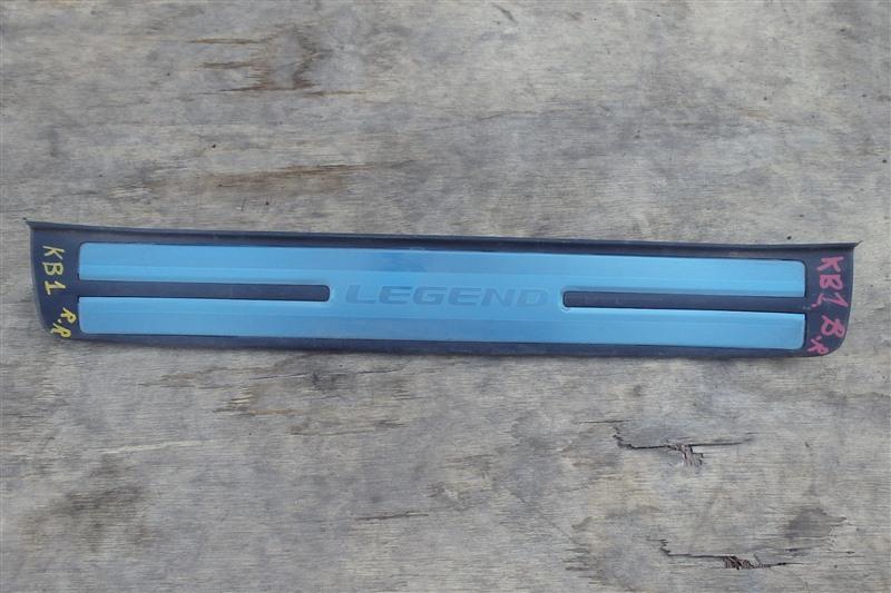 Накладка на порог Honda Legend KB1 J35A 2005 задняя правая