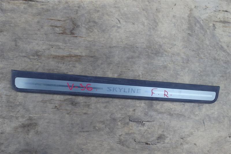 Накладка на порог Nissan Skyline V36 VQ25HR 2009 передняя правая