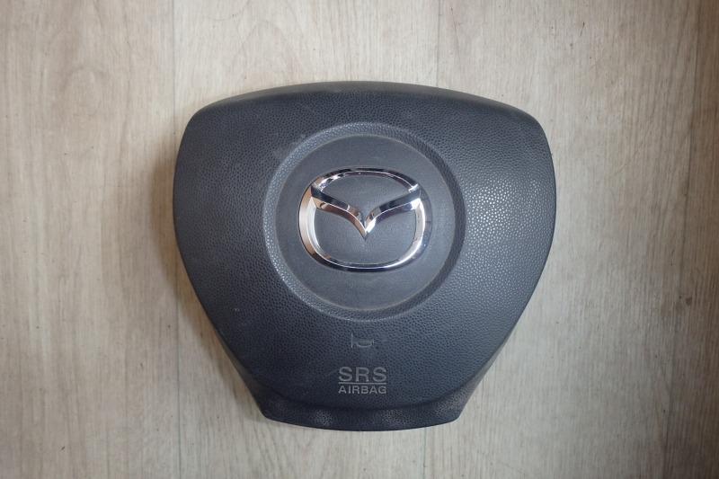 Airbag на руль Mazda Mpv LY3P L3-VDT 2007 передний правый