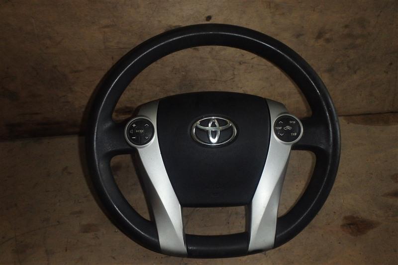 Airbag на руль Toyota Prius ZVW30 2ZR-FXE 2013