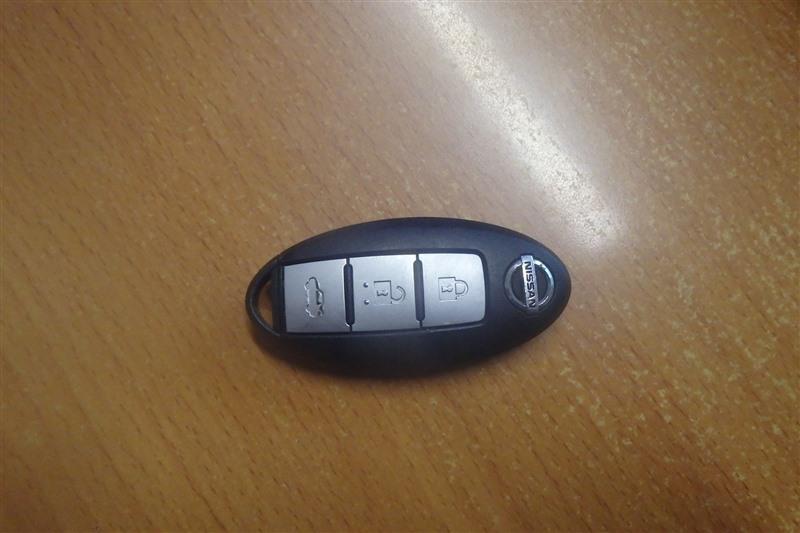 Чип-ключ Nissan Teana J32 VQ25DE 2010