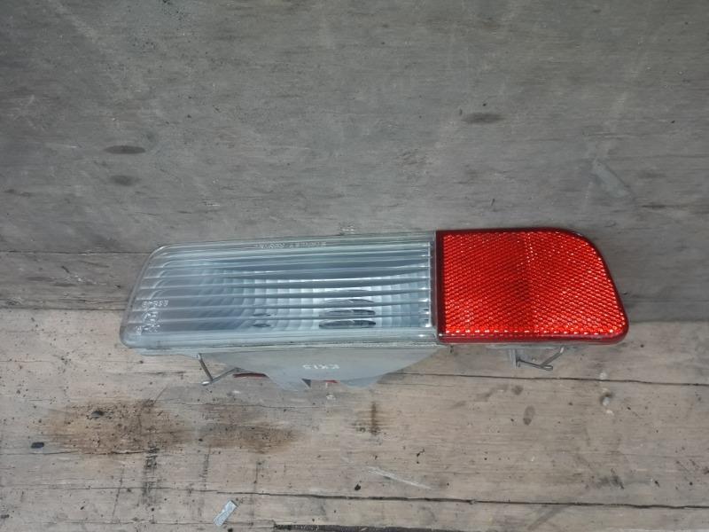 Повторитель бамперный Mitsubishi Pajero V75W 6G74 1999 задний левый