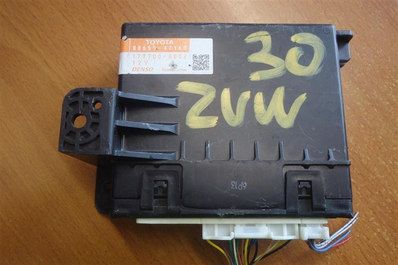Блок управления кондиционером Toyota Prius ZVW30 2ZR-FXE 2013