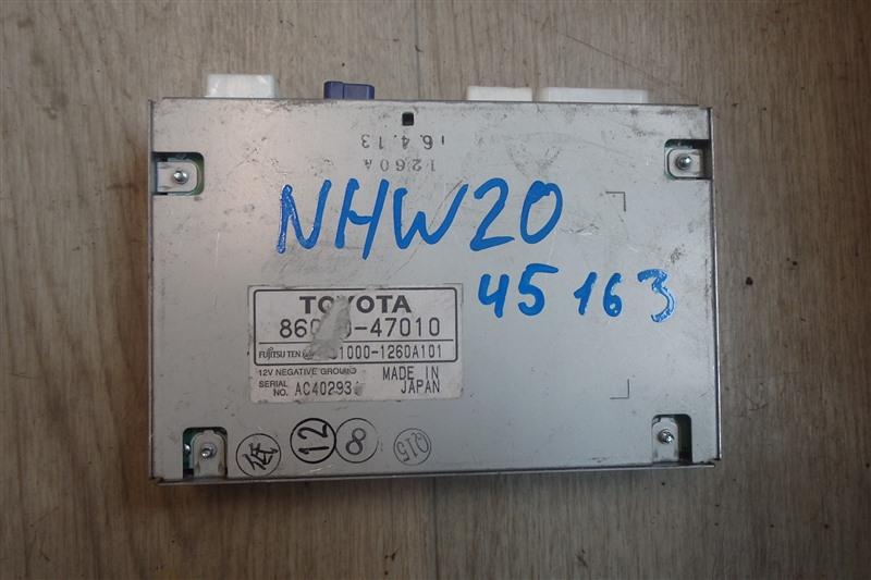 Блок управления tv-tuner Toyota Prius NHW20 1NZ-FXE