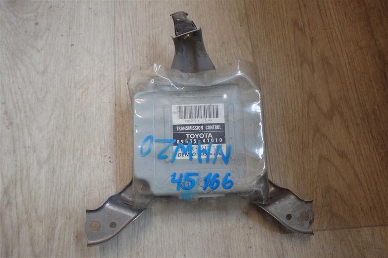 Блок управления акпп Toyota Prius NHW20 1NZ-FXE