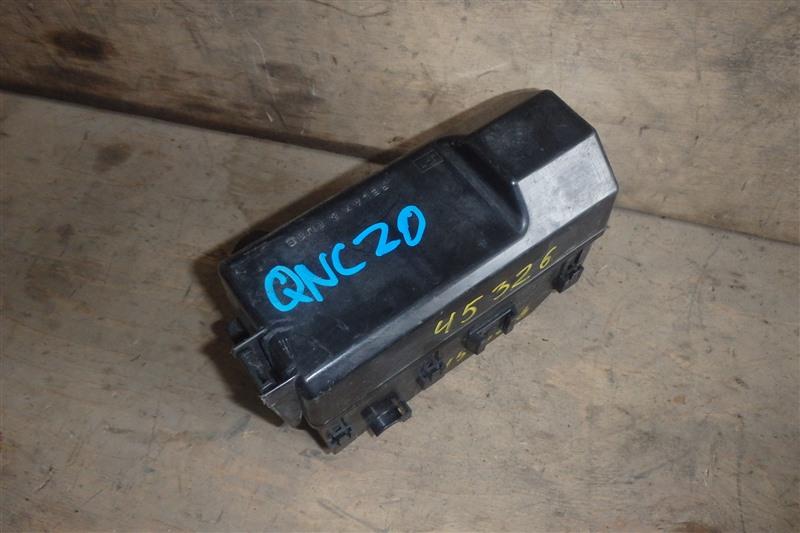 Блок предохранителей Toyota Bb QNC20 K3-VE 2006
