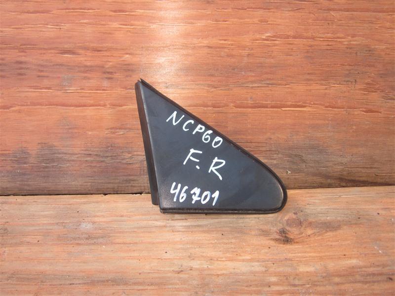 Уголок с крыла Toyota Ist NCP60 2NZ-FE 2002 передний правый
