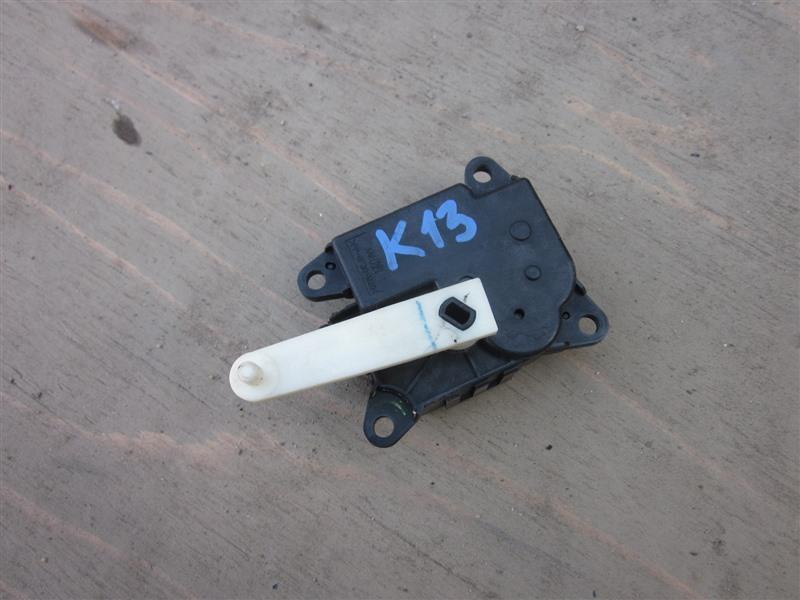 Сервопривод заслонок печки Nissan March K13 HR12DE 2011