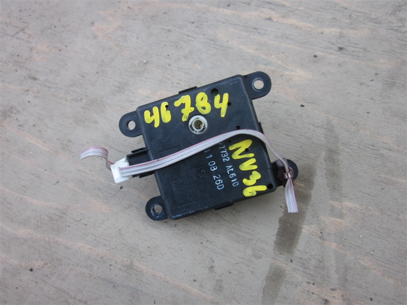 Сервопривод заслонок печки Nissan Skyline NV36 VQ25HR 2011