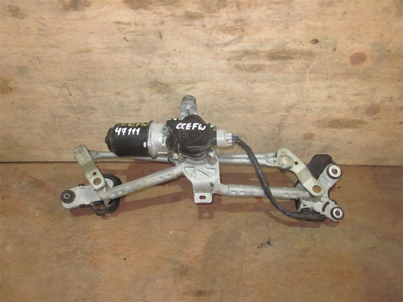 Мотор дворников Mazda Biante CCEFW LF-VD 2012 передний