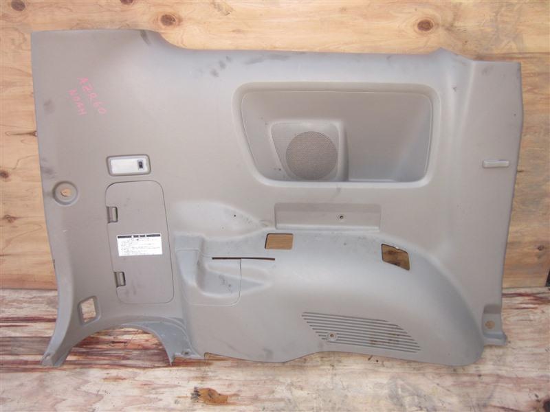 Обшивка багажника Toyota Noah AZR60 1AZ-FSE 2004 задняя левая