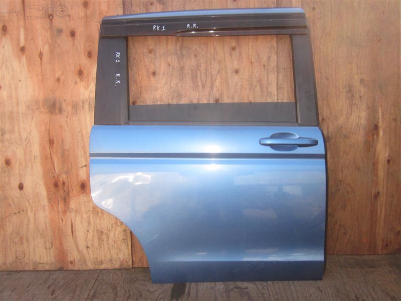 Дверь Honda Step Wagon RK1 R20A 2010 задняя правая