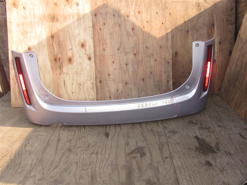 Бампер Mazda Biante CCEFW LF-VD 2012 задний