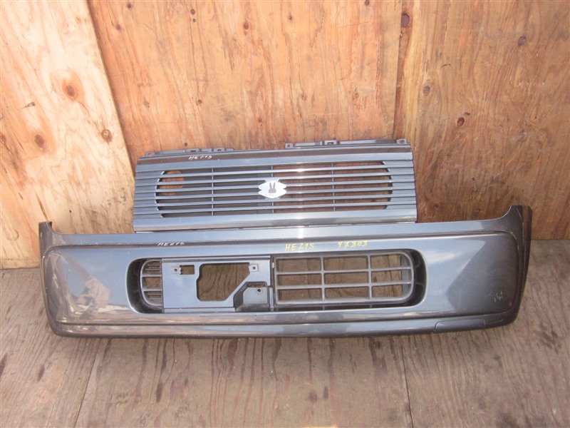 Бампер Suzuki Alto Lapin HE21S K6A 2002 передний