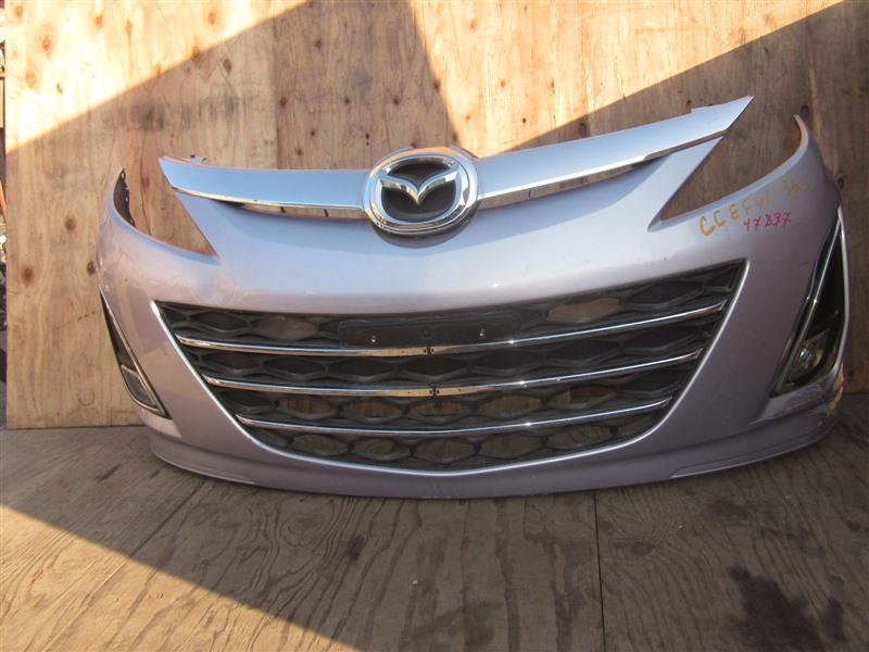 Бампер Mazda Biante CCEFW LF-VD 2012 передний