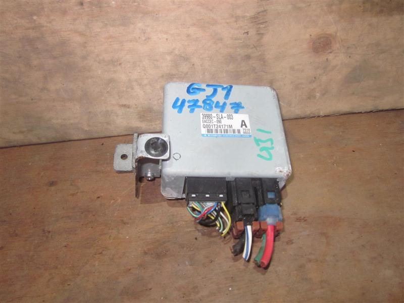 Блок управления рулевой рейкой Honda Airwave GJ1 L15A 2007