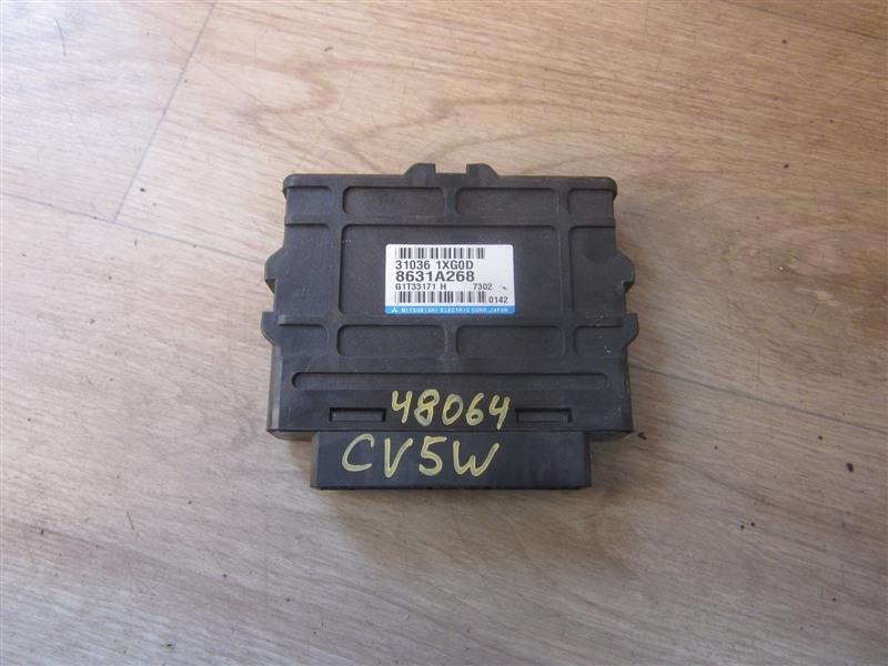 Блок управления акпп Mitsubishi Delica D5 CV5W 4B12 2007