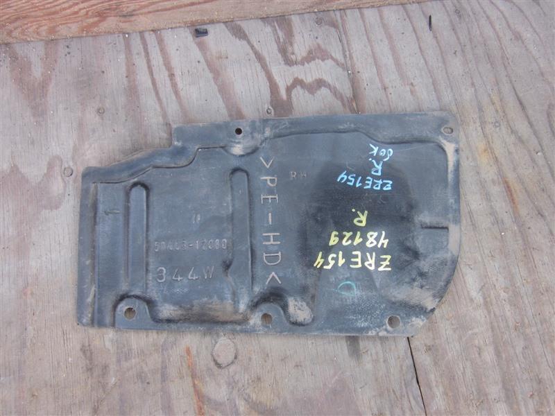 Защита двс Toyota Corolla Rumion ZRE154 2ZR-FE 2008 правая