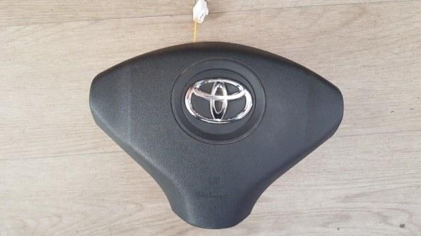 Airbag на руль Toyota Bb QNC20 K3-VE 2010 передний правый