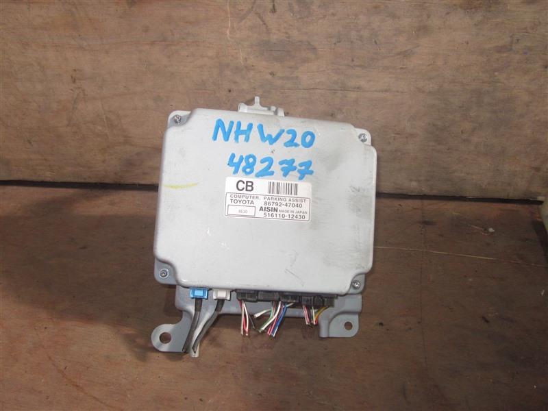 Блок управления парковкой Toyota Prius NHW20 1NZ-FXE 2008