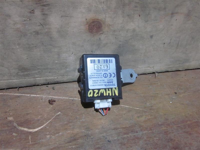 Блок управления Toyota Prius NHW20 1NZ-FXE 2008
