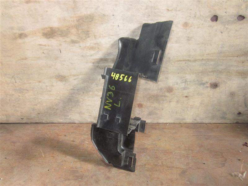 Дефлектор радиатора Nissan Skyline NV36 VQ25HR 2011 левый