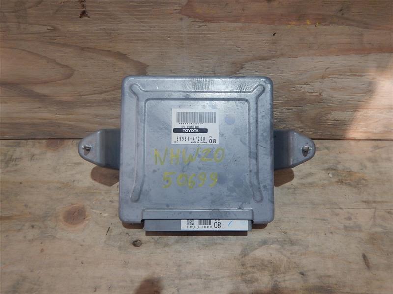 Блок управления инвертором Toyota Prius NHW20 1NZ-FXE 2008