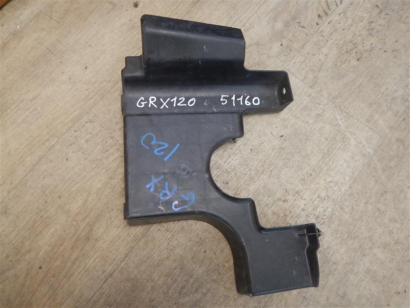 Защита двс Toyota Mark X GRX120 4GR-FSE 2008 передняя левая