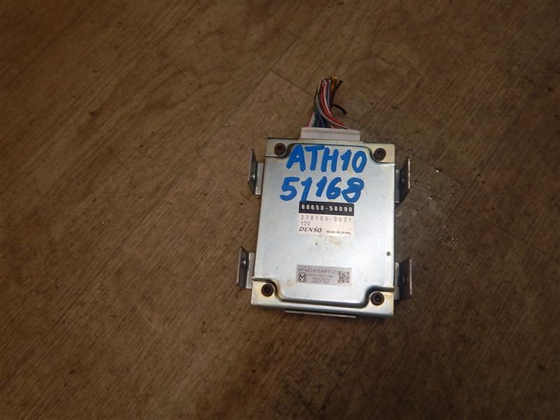 Блок управления кондиционером Toyota Alphard ATH10 2AZ-FXE 2003