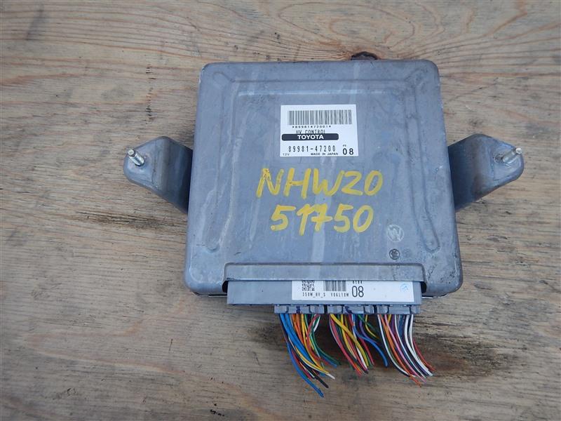 Блок управления инвертором Toyota Prius NHW20 1NZ-FXE 2006