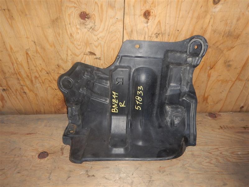 Защита двс Nissan Cube BNZ11 CR14DE 2002 правая