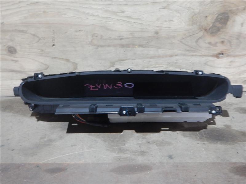 Спидометр Toyota Prius ZVW30 2ZR-FXE 2012
