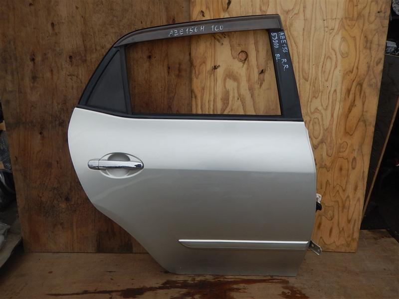 Дверь Toyota Blade AZE156 2AZ-FE задняя правая