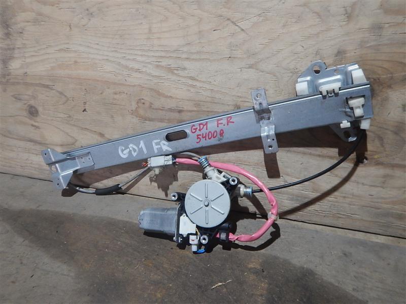 Стеклоподъемник Honda Fit GD1 L13A 2005 передний правый